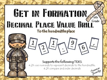 """""""Get in Formation"""": A Kinesthetic Decimal Place Value Game"""