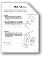 'Goldilocks and the Three Bears': Math Activities