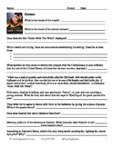 """""""Gone With The Wind"""" Movie Guide with Key *editable*"""