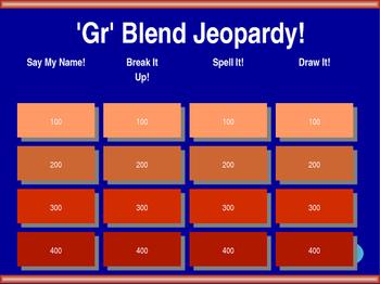 'Gr' Blend Jeopardy!