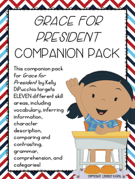"""Grace for President"" Companion Pack"