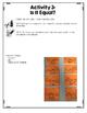 {Grade 1} Algebra Interactive Notebook