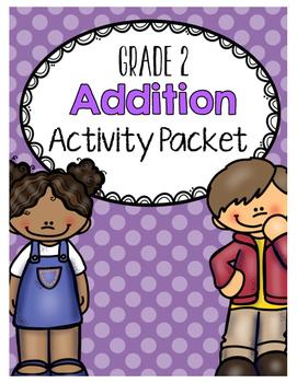 {Grade 2} Addition Activity Packet