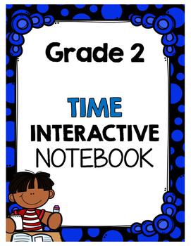 {Grade 2} Time Interactive Notebook