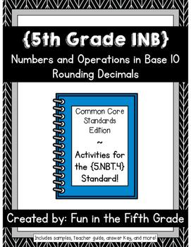 {Grade 5} NBT.4 Interactive Math Notebook