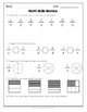 {Grade 5} Ontario End of Year Math Assessment