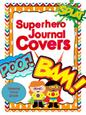 *Growing Pack* Superhero Theme Journal and Folder Covers