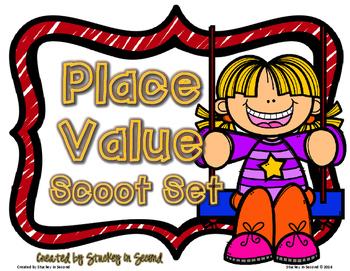 Place Value Scoot Set (6 Games)