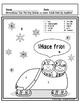 ¡Hace frío! Color by number in Spanish (5 pages)