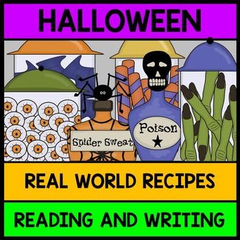 {Halloween} {Recipes} {Special Education} {Life Skills} {R