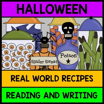 {Halloween} {Recipes} {Special Education} {Life Skills} {R