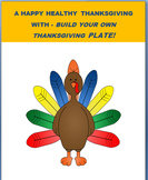 """Thanksgiving-""""Build a Thanksgiving plate Activity with saf"""