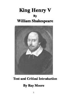 """""""Henry V"""" by Shakespeare: Text and Critical Introduction"""