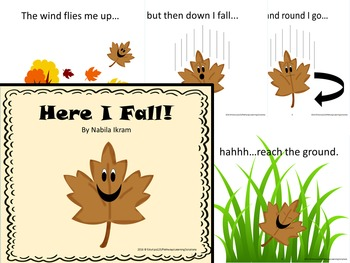"""""""Here I Fall"""" A Fall Book for Young Readers"""