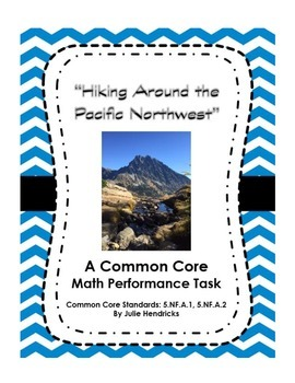 """""""Hiking Around the Pacific Northwest"""" - A Common Core Math"""