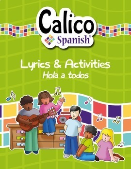 ¡Hola a todos! - Music Video & Activities Pack to teach gr