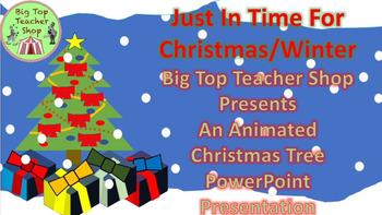 (Holiday) Christmas Tree Animated PowerPoint Presentation
