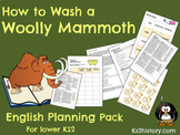 'How to Wash a Woolly Mammoth' Planning & Resource Pack
