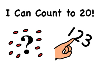 """""""I Can Count to 20!"""" Counting Book"""