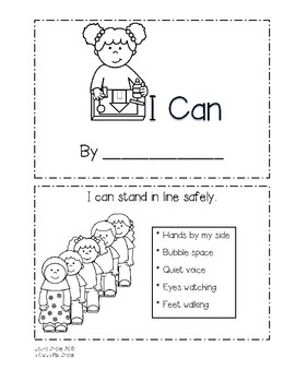 "Back-to-School ""I Can"" Mini Book"