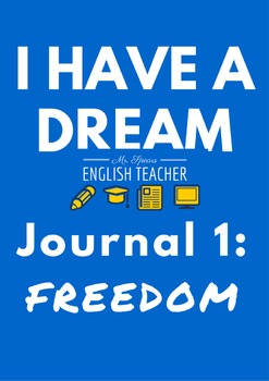"""""""I Have a Dream"""" Journal Writing"""