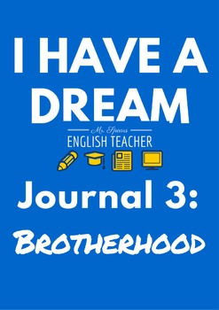 """""""I Have a Dream"""" Reflective Journal 3"""