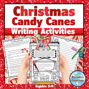 """CCSS """"I Need More Candy Canes"""" Writing Assignment"""