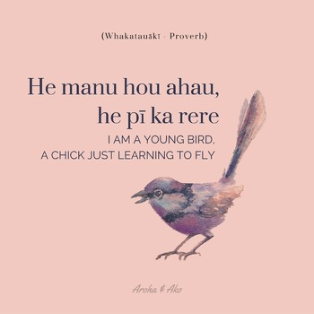 """""""I am a young bird, a chick just learning to fly"""""""