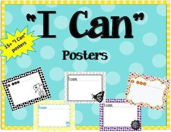 """""""I can"""" Posters / Inspiration / Student"""
