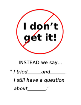 """""""I don't get it!"""" Poster"""
