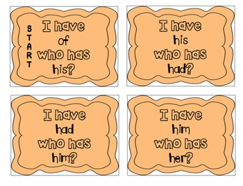 """""""I have, who has?"""" Sight Word Bundle"""