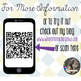 """I'll Take..."" QR Code Generator and Game Show Templatae -"
