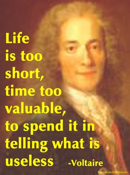 """""""I'm Going to Change the World"""" The Story of Voltaire ~ Pa"""