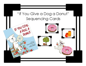 """If You Give a Dog a Donut"" - Sequencing Cards"