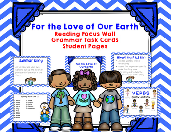 "Imagine It  ""For the Love of our Earth "" Unit 1.2- Reading"