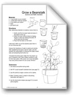 'Jack and the Beanstalk': Science and Math Activities