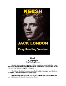 """""""The Story of Keesh"""" Mp3 and Easy Reading Text"""