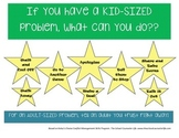 """Kid-Sized"" Problem Choice Poster"