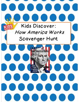 Kids Discover How America Works Scavenger Hunt