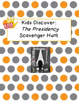 Kids Discover The Presidency Scavenger Hunt