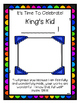 """""""King's Kid"""" - A Christian Star of the Week Program"""