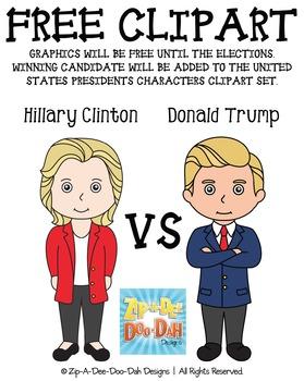{FLASH FREEBIE} 2016 Final US Presidential Candidates Char