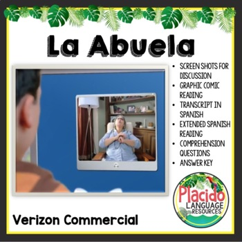 """La Abuela"" Verizon Commercial Authentic Spanish Resource"