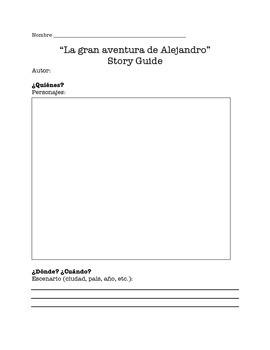 """La gran aventura de Alejandro"" Chapters 1-2 Story Guide"