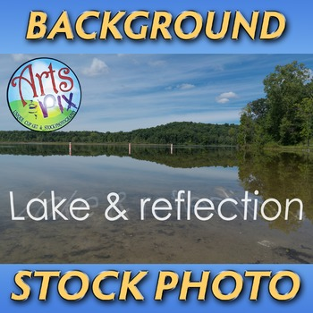 "! ""Lake with reflection"" - Photograph - Lake Landscape Bac"