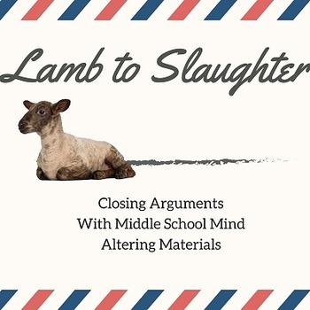 """Lamb to Slaughter"" Roald Dahl Insanity Plea Closing Arguments"