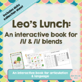 Leo's Lunch: An Interactive Book for Articulation & Langua