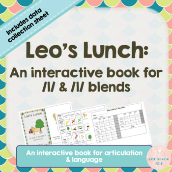 Interactive Book for articulation: Leo's Lunch: /l/ and /l