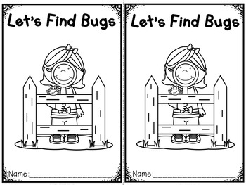 """Let's Find Bugs"" Fact and Opinion (A Spring Emergent Read"