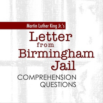 mlk birmingham answers